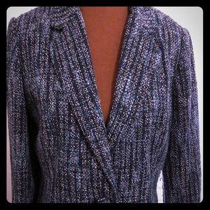 Mossimo Bouclé Tweed Jacket, Sz XL